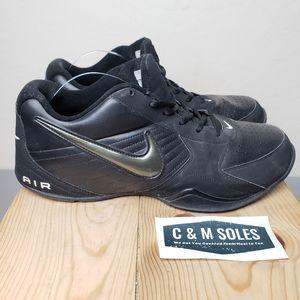 Nike Air Baseline Low Black on Black Basketball